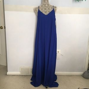 Nicole Miller flowy maxi dress